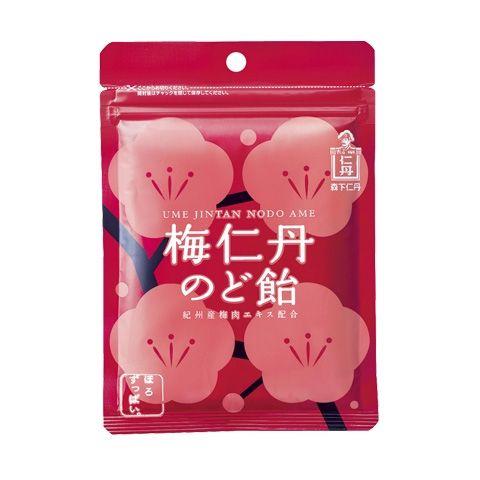 梅仁丹のど飴(5袋セット)/こだわり食品 | 森下仁丹の通販