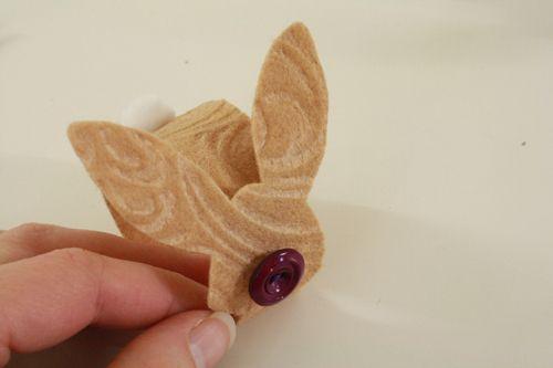 Easter bunny napkin rings   Tally's Treasury