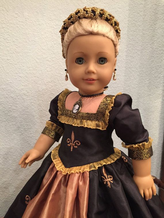 Wow! -Renaissance gown for American Girl dolls by SmallWorldCouture