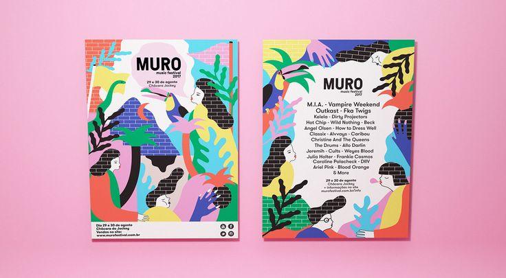 다음 @Behance 프로젝트 확인: \u201cMuro festival\u201d https://www.behance.net/gallery/47754803/Muro-festival