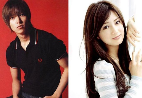 Japanese stars Yamashita Tomohisa and Kitagawa Keiko