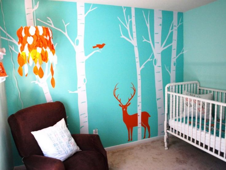 DIY Baby Room Decorating