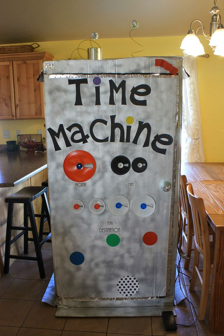 Made this Time Machine for the kids in Primary! They loved it! Used it with Sharing time for May 2014 week 2 and week 4 combined about Prophets and other amazing examples!