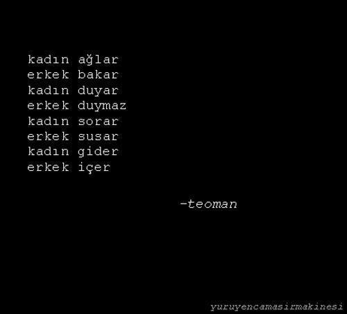 Teoman (lyrics)