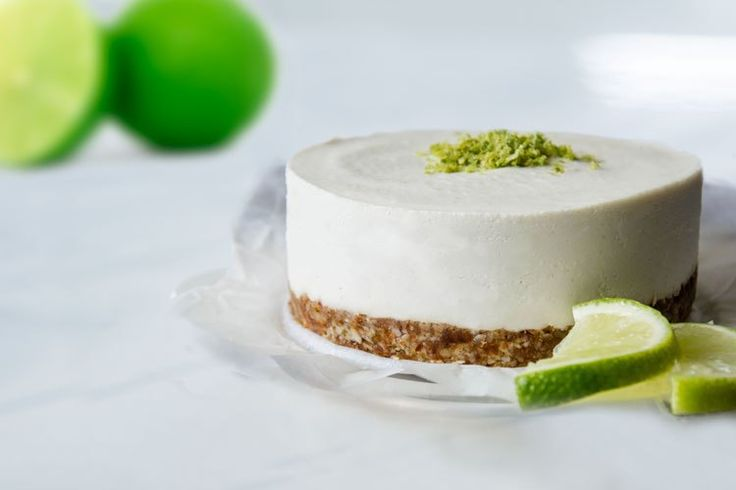 Raw Vegan Lime Cheesecake (raw, vegan, gluten-free) Made with Native Forest Coconut Milk!