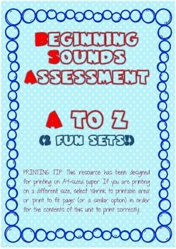 - a document containing 2 sets of worksheets to assess the kindergartener's phonics/beginning sounds knowledgeSet A: Write the beginning sound.Set B: Encircle the correct beginning sound.For more worksheets, printables, and other preschool craft, classroom management ideas and more, do visit my store:https://www.teacherspayteachers.com/Store/Sheena-Senseior follow me on pinterest: https://www.pinterest.com/sheenamai/miss-sheena-makes/