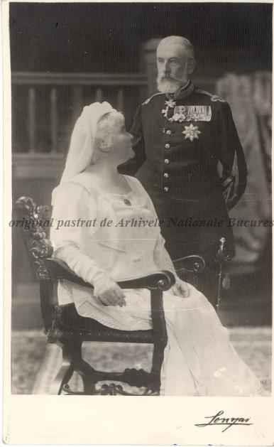 BU-F-01073-5-02293-1 Regina Elisabeta şi regele Carol I \ , s. d. (sine dato) (niv.Document)