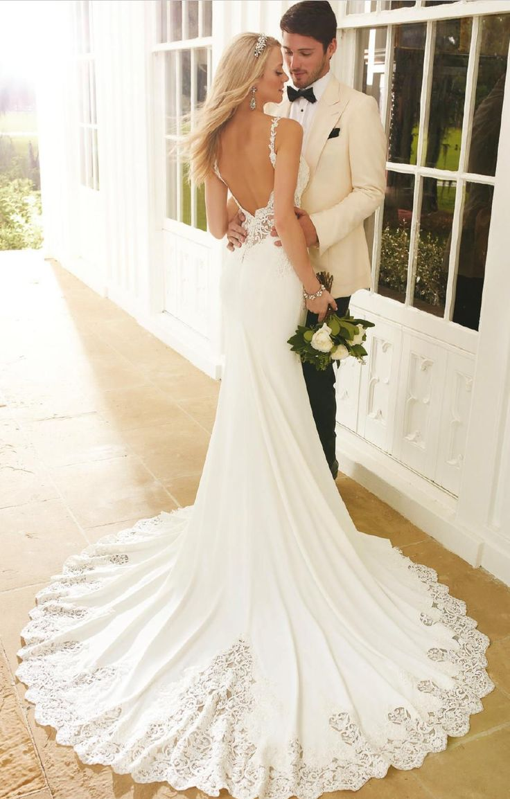 the 25+ best backless wedding dresses ideas on pinterest