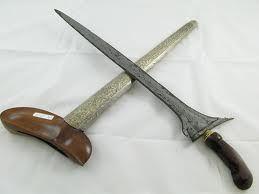 Keris, traditonal weapon of North Sulawesi