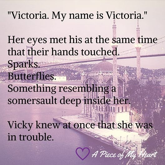 Excerpt from novel A piece of my heart by Cindi Page