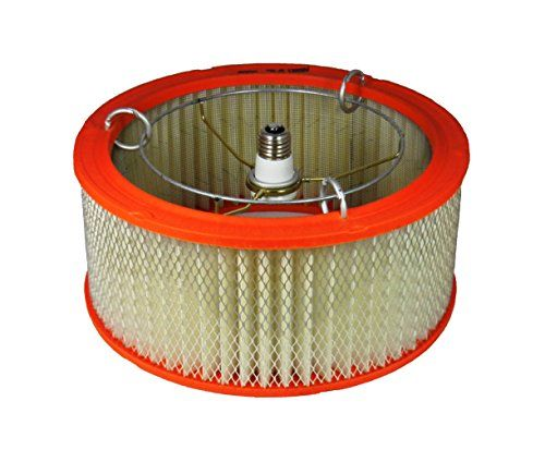 Ceiling Light Auto Air Filter Shade for Garage or Basement Decor Just Screw In To Install for a Man Cave Garage >>> Details can be found by clicking on the image.