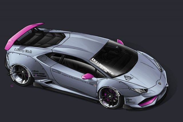 Liberty Walk Lamborghini Huracan Imagined Again
