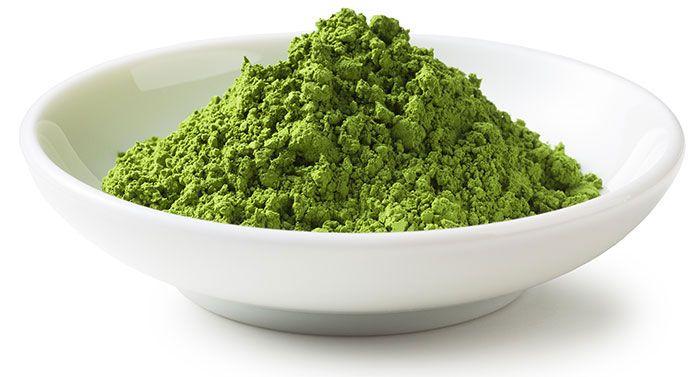 imagen de te matcha verde polvo
