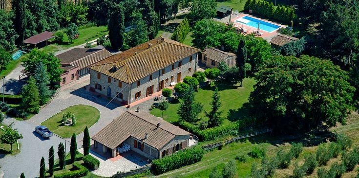 Agriturismo: appartamenti e case vacanza - Le Palaie