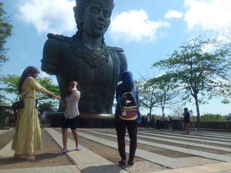 I'm in Garuda Whisnu Kencana