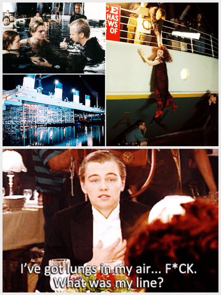 The Titanic 1997 - Behind the scenes | Behind The Scenes | Pinterest Titanic