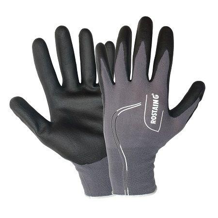 Fijne handschoen om o.a. uw gereedschap mee te onderhouden in een mannelijke kleur. U behoudt het gevoel en de handen blijven schoon. voelt aan als een tweede huid. Slijtvaste, sterke, soepele handschoen die handen optimaal beschermen tegen alledaagse werkzaamheden in de schuur of in de tuin.