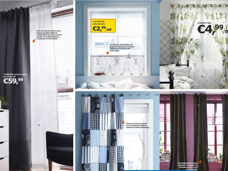 17 mejores ideas sobre cortinas para dormitorio en - Cortinas dormitorio ikea ...