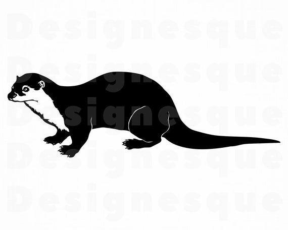 Otter Creek Halloween 2020 Otter SVG Forrest Creatures Otter Clipart Otter Files for | Etsy