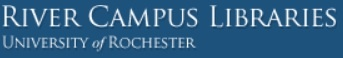 UNIVERSITY OF ROCHESTER (NY) RIVER CAMPUS LIBRARIES  Rare Books & Special Collections Databases
