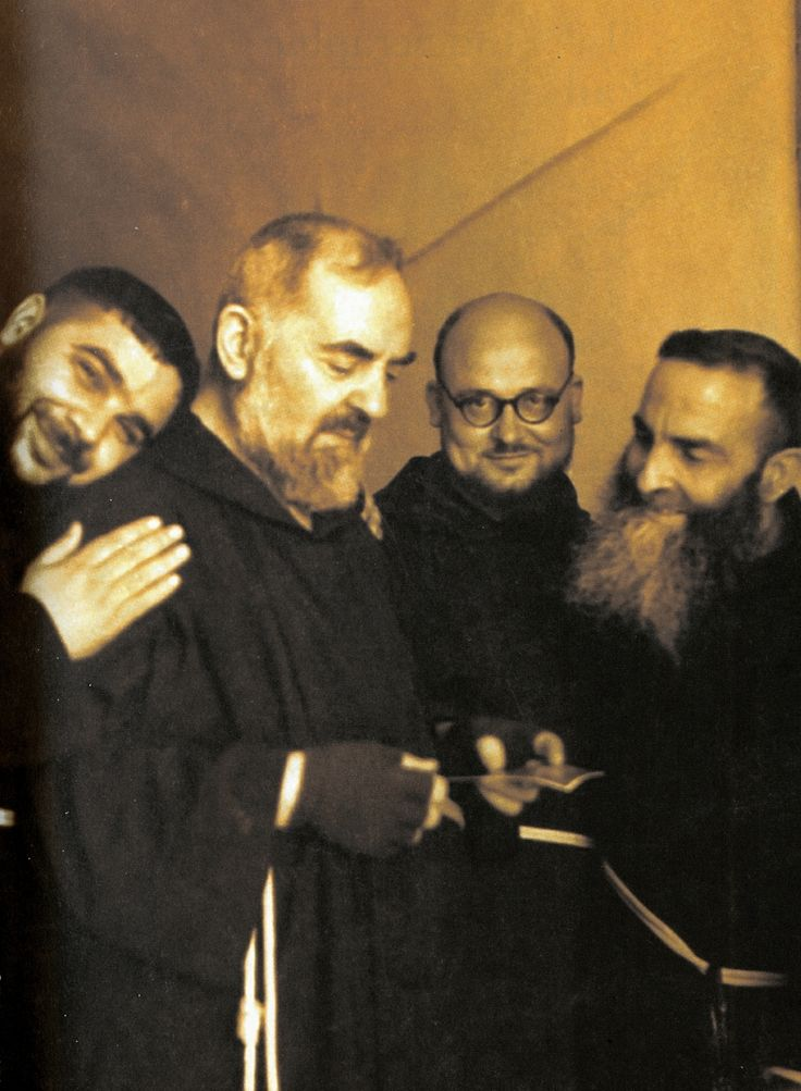 """I assure you that, when the Lord calls me, I will say to Him: ""Lord, I shall remain at the gates of Paradise; I shall enter only when I have seen the last of my spiritual children enter."" - Padre Pio"