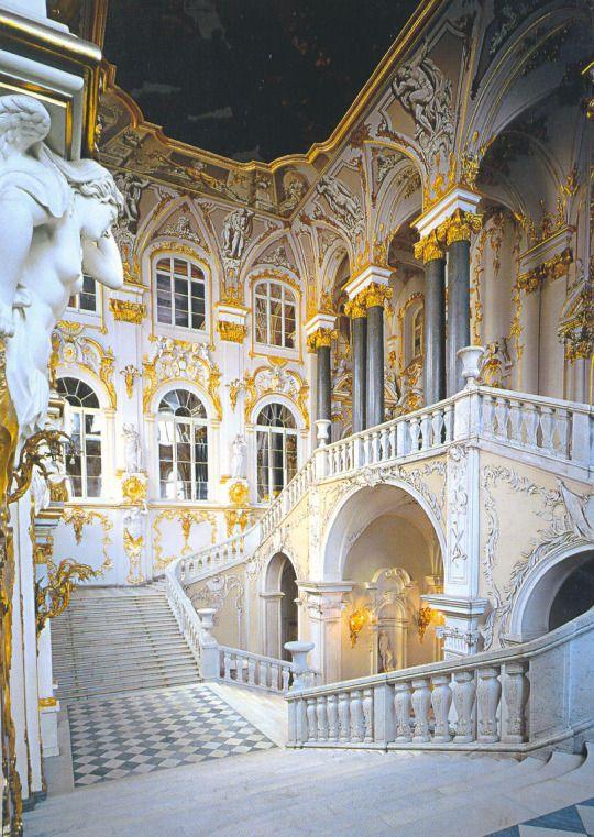 Hermitage Museum, Winter Palace, St Petersburg - Russia