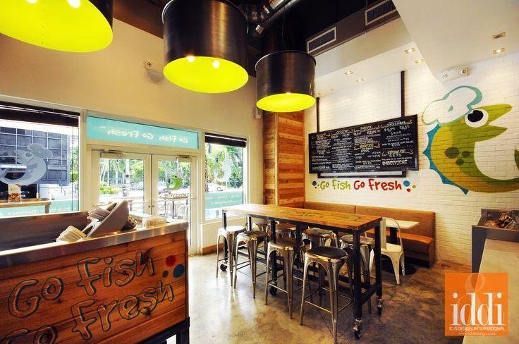 My Ceviche Restaurant Miami, FL Designed by ID & Design International