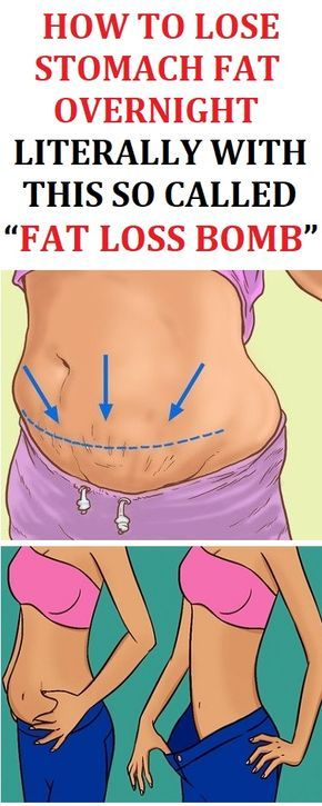 """Flat Belly Overnight >> Lose The Stomach Fat Literally Overnight With This So Called """"Fat Loss Bomb"""" 