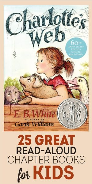 25 Great Read Aloud Chapter Books For Kids
