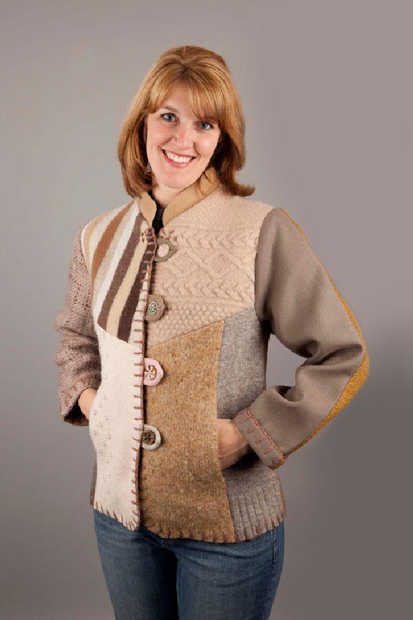Переделка со вкусом, или Как дать винтажному свитеру вторую жизнь - Ярмарка…