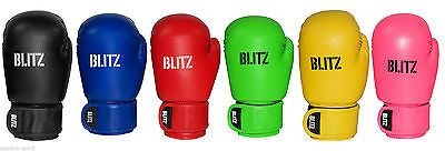 Blitz kids #leather boxing #gloves - multiple #colours,  View more on the LINK: http://www.zeppy.io/product/gb/2/172118964145/