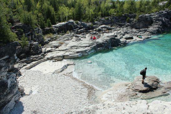 Sandbanks Provincial Park, Collingwood caves, Flowerpot Island and Bruce Peninsula National Park, Point Pelee National Park, Hamilton falls
