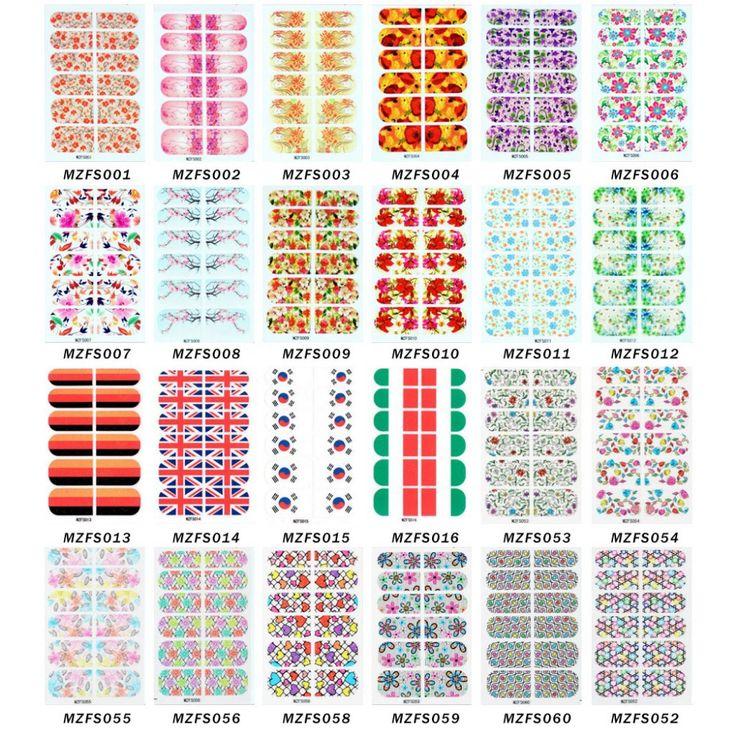 1 PC cobertura completa Nail Art adesivo decalque água flor dos desenhos animados sexo padrões de moda de leopardo Hot venda por atacado 192 modelos disponíveis em Adesivos de Health & Beauty no AliExpress.com | Alibaba Group