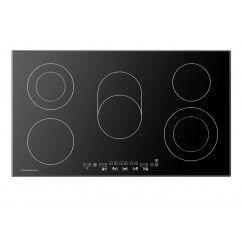 Küppersbusch Premium Keramische kookplaat 90 cm Zwart Rand facet