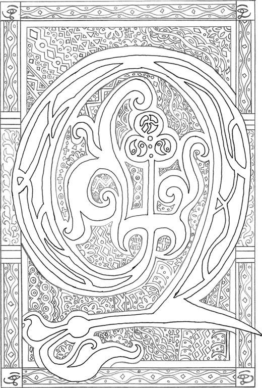 illuminated manuscript coloring pages - 94 best project illuminated letter images on pinterest