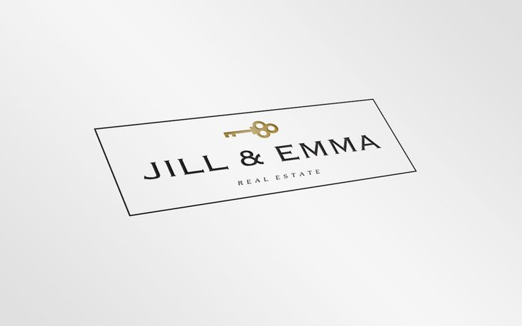 Jill & Emma Real Estate logo · Hamptons Designs #logo #realtor #logos #brading #hamptons #newyork