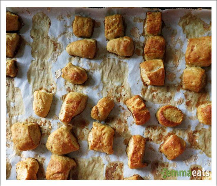 Whole Wheat Honey Pretzel Bites | Emma Eats