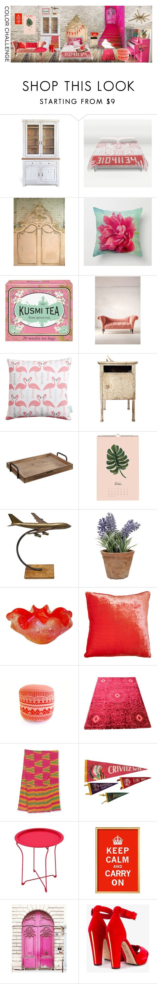 """My colorful roomie"" by les1 ❤ liked on Polyvore featuring interior, interiors, interior design, home, home decor, interior decorating, Benjamin Moore, Kusmi Tea, Urban Outfitters and Rosa & Clara Designs"