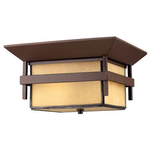 Harbor Anchor Bronze One-Light LED Outdoor Flush Mount