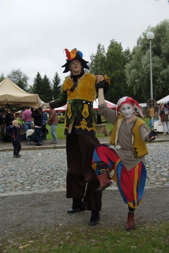 Hämeen keskiaikamarkkinat - Häme Medieval Faire 2008, Narrit - Jesters, © Timo Martola