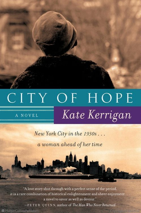 City of Hope: A Novel by Kate Kerrigan- http://www.tinasbookreviews.com/2013/07/book-reviewcity-of-hope-by-kate-kerrigan.html