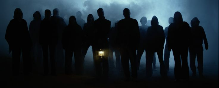 The mysterious silhouette army
