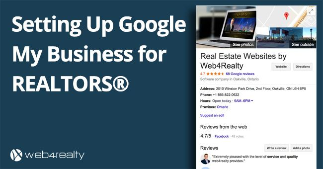 #REALTORS: Improve your visibility on Google in less than 5 minutes! https://www.web4realty.com/setting-up-google-my-business-for-realtors/?utm_content=bufferc2067&utm_medium=social&utm_source=pinterest.com&utm_campaign=buffer #RealEstateMarketing