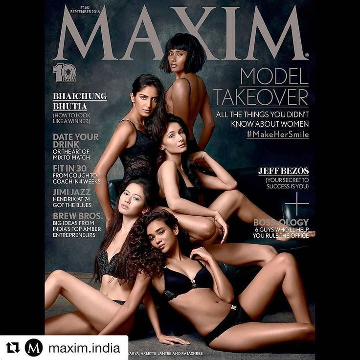 Our stunning Aastha p on maxim cover #Repost @maxim.india with @repostapp…