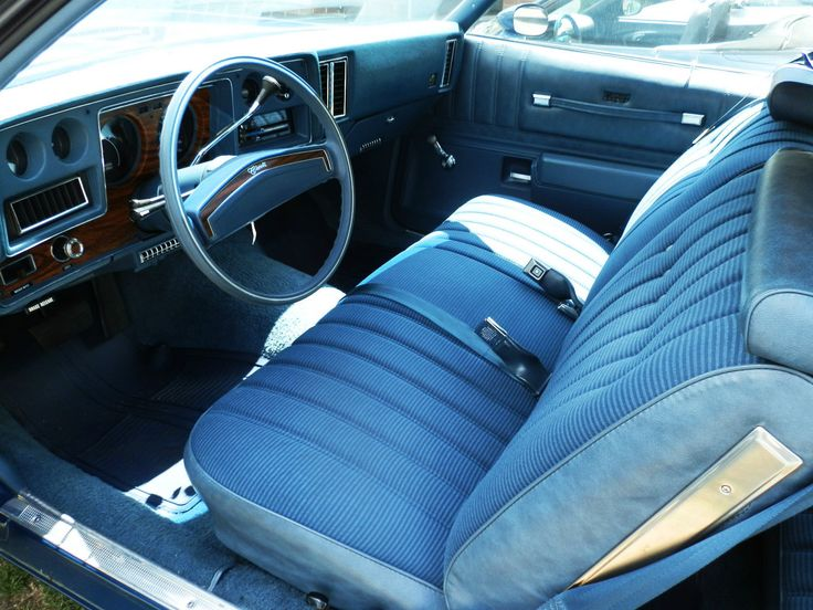 1000 images about classic car interiors on pinterest pontiac grand prix oldsmobile toronado. Black Bedroom Furniture Sets. Home Design Ideas