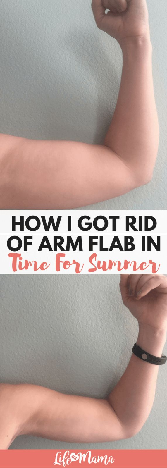 How I Got Rid Of Arm Flab In Time For Summer I got…