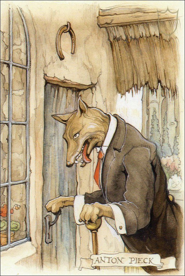 Roodkapje, de Efteling - Anton Pieck