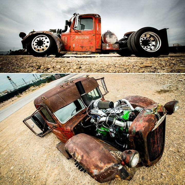 Mack Truck Rod Before And After: 17 Best Images About Its An Addiction On Pinterest