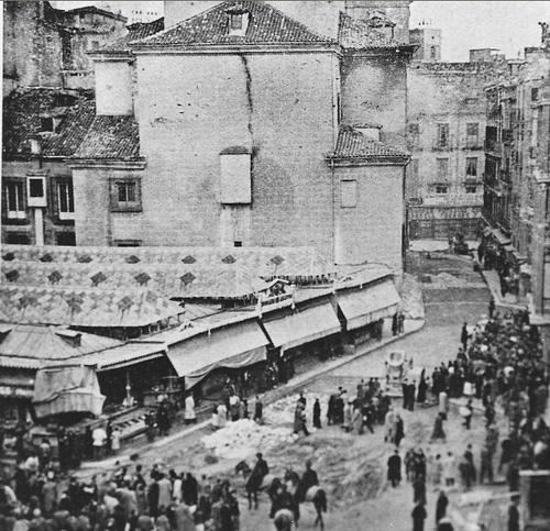 Plaza del Carmen. 1935