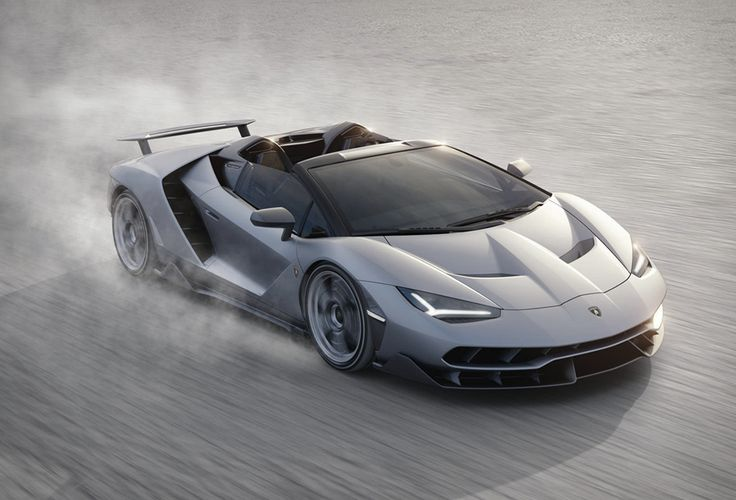 Lamborghini Centenario Roadster   Meet the spectacular new Lamborghini, the Centenario Roadster a beastly supercar with an impressive 770-hp V-12 engine, making it the most powerful Lamborghini ever. This automotive masterpiece was unveiled at last week a